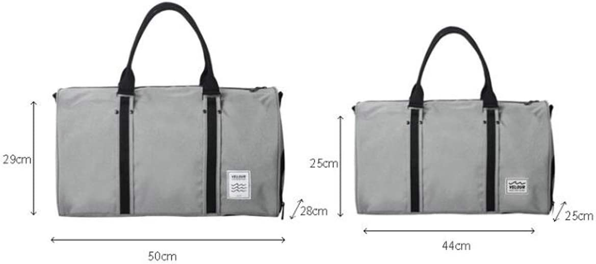 Business Bag Short-Distance Travel Bag Large Size: 502829cm Travel Duffel Bag for Men and Wo ZHICHUANG Duffel Bag Portable Large-Capacity Duffel Bag Waterproof Gym Bag Men and Women Travel Bag