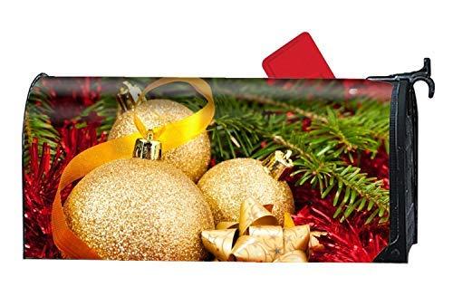 - Decorative Mailbox Wrap Holiday Christmas Ornaments Magnetic Mailbox Cover × Magnetic Mailbox Cover 9