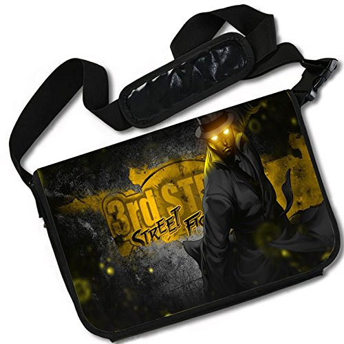 MovieWallscrolls Street Fighter 3 3rd Strike Game Stylish Messenger Bag/Lap Top Bag (15 x 11) Inches [MB] SF3 3rd Strike-3 from MovieWallscrolls