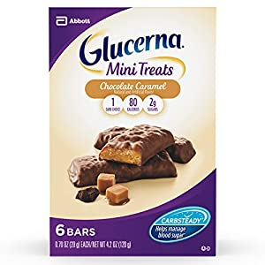 Glucerna Mini Snack Nutrition Bars, 0.70-Ounce, 36 Count