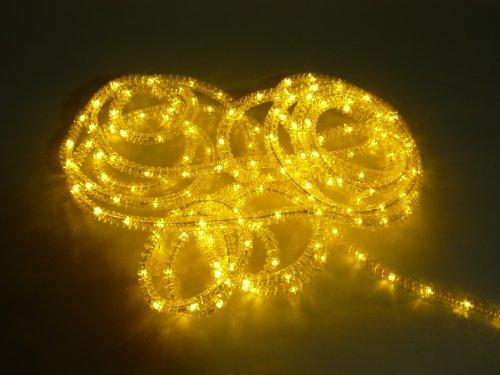 LED Lichtschlauch, Beleuchtung für Außen und Innen, 8 m, Lichtfarbe warmweiß, Gartenbeleuchtung, Dekoration