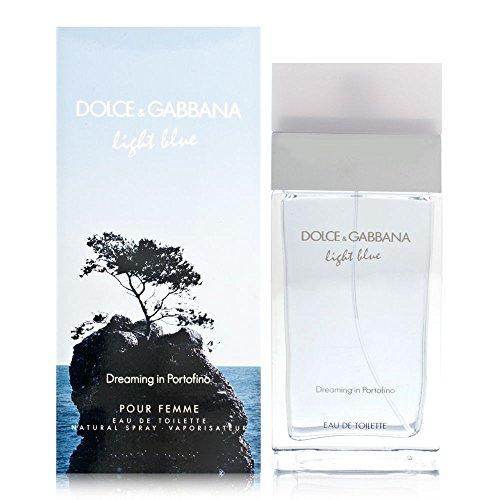 Dolce & Gabbana Light Blue Dreaming in Portofino Women Eau De Toilette Spray, 3.3 Ounce