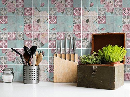 Adesivi murali per piastrelle bagno decorazioni piastrelle