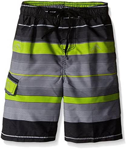 Kanu Surf Boys' Specter Stripe Swim Trunk