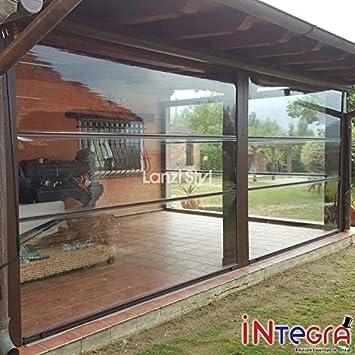 Mosquitera cortina integral de PVC cristal transparente: Amazon.es: Jardín