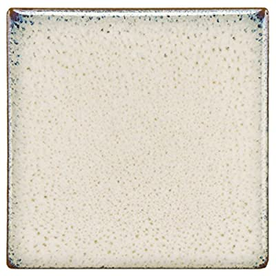"SomerTile FSD4ESD Essentia Sand Porcelain Floor and Wall Tile, 4"" x 4"", Beige/Cream"