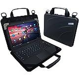 "UZBL Always On SLIM EVA 11"" Rugged Chromebook and Notebook Case"