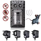 Ultrasonic Pest Repeller Rat Mosquito Electronic Mouse Insect Rodent Control Anti Trap Bug