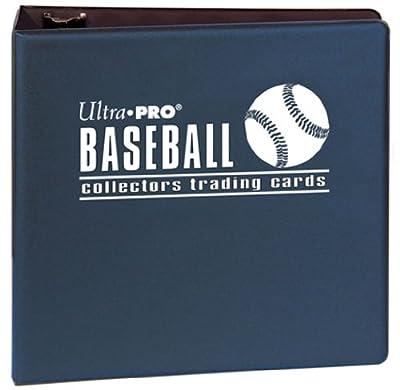 "Ultra Pro 3"" Blue Baseball Album"