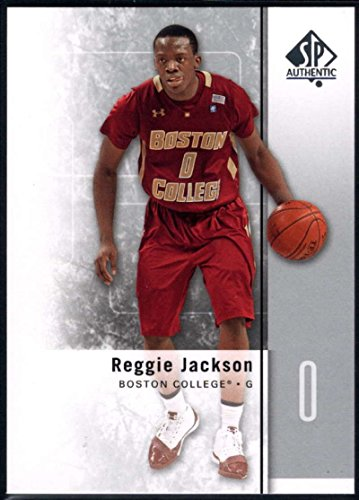 Boston College Eagles Authentic Basketball - 2011-12 SP Authentic Basketball #26 Reggie Jackson Boston College Eagles Official NCAA Trading Card From Upper Deck
