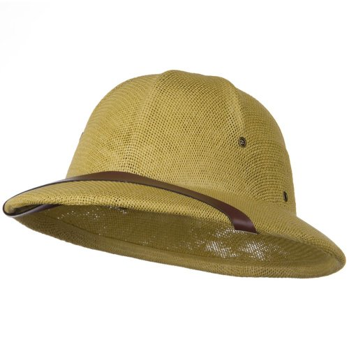 [Pith Hat Helmet] (Straw Safari Hat)