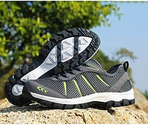 ウォーキングシューズ ハイキングシューズ メンズ スニーカー シューズ 靴 レースアップ トレッキングシューズ ローカット 登山靴 耐摩耗性 遠足 幅広 歩きやすい 防滑クライミングシューズスポーツシューズ