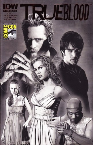 True Blood #1 Limited Blood Red Foil Variant Cover ()