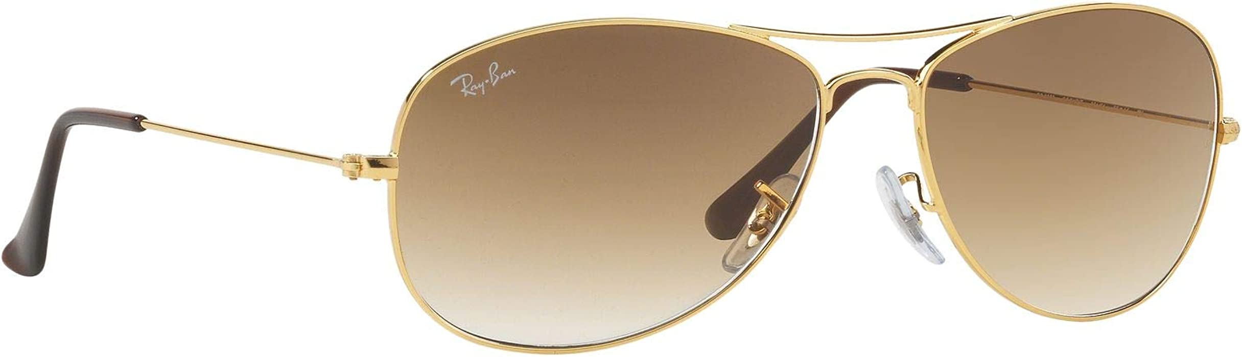 fc368bf8100 Ray Ban RB3362 COCKPIT 001 51 56M Arista Crystal Brown Gradient Sunglasses  For Men