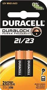 Duracell MN27BPK09 Alkaline Keyless Entry Battery, 12.0V (5001878) 1pack of 2 count