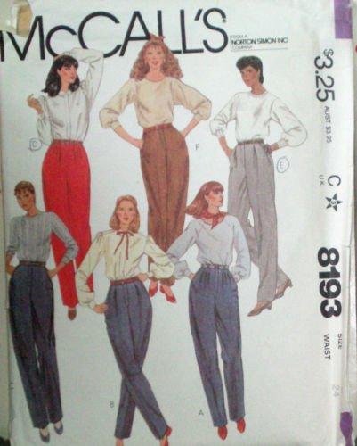 Slant Pockets Trousers - 4