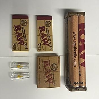 Amazon Com Raw 110mm 1 1 4 Hemp Plastic Cigarette Rolling