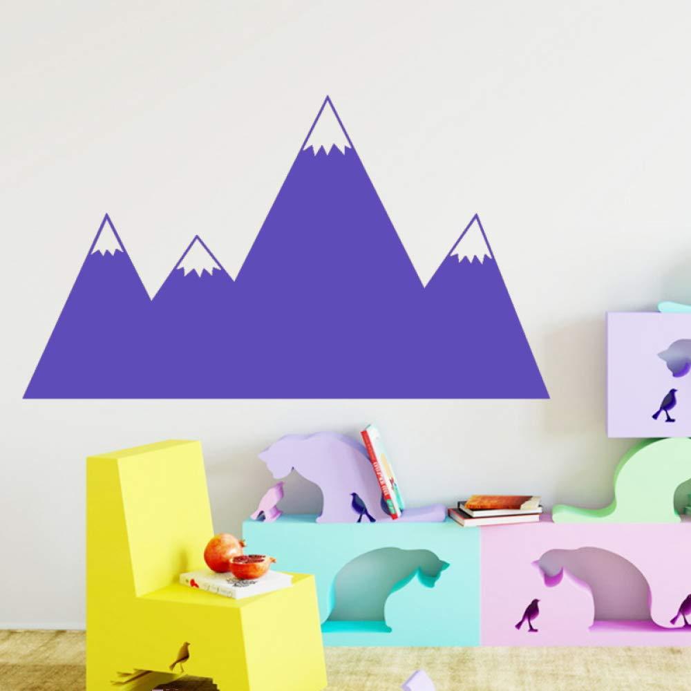 jiuyaomai Dibujos Animados montaña Pared Arte Pegatina decoración ...