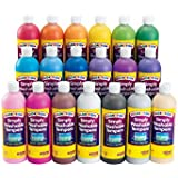 Colorations Simply Washable Tempera Paints, 16 oz. Set of 19 (Item # SWTALL)