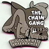 #42 Disney Pin 649 DS - Countdown to the Millennium Series #42 (Chain Gang / Pluto) Pin First Appearance