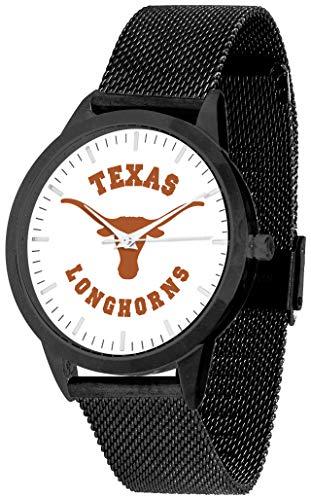 Texas Longhorns - Mesh Statement Watch - Black Band - Black Dial