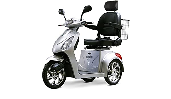 Amazon Com Ewheels Scooter With Electromagnetic Brakes In Silver