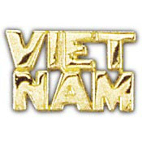 EagleEmblems P14997 Pin-Viet,Scr,Viet.Nam (Nam Pin)