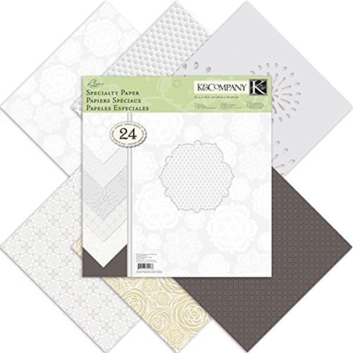 Crafting K & Company Paper (K&Company Elegance Specialty 12-by-12-Inch Paper)