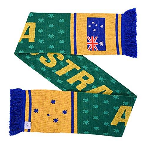 Australia Soccer Knit Scarf by Australia