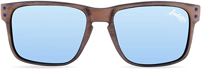 55 Montures de lunettes Mixte Adulte The indian face Freeride Spirit Brown Wooden Marron