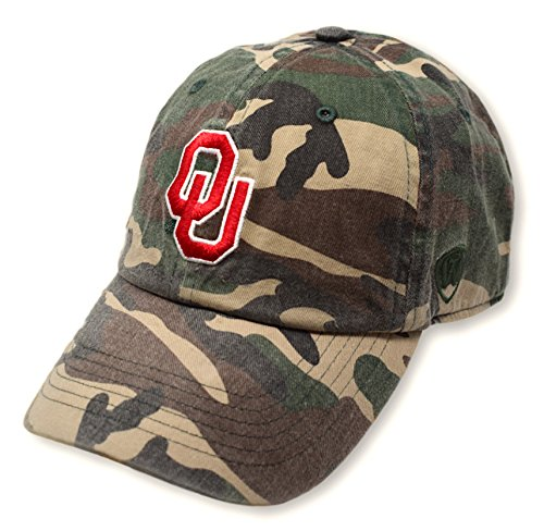 - Top of the World Oklahoma Sooners Men's Camo Hat Icon, Camo, Adjustable
