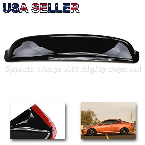 2002-2006 Acura RSX Side Door Window Visors with LOGO DC5 Sun Deflectors Shade