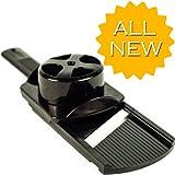 Cuisavour's Ceramic Blade Mandoline Slicer (Black)