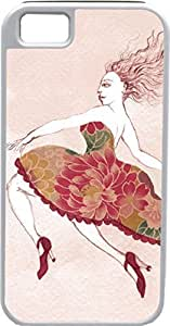 Case For HTC One M8 Cover Customized Gifts Cover Woman wearing high heels and party dress floating mid-air Case For HTC One M8 Cover