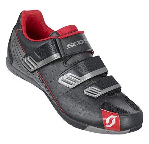Scott Tour Unisex-Erwachsene Radsportschuhe - Mountainbike Schwarz / Silber
