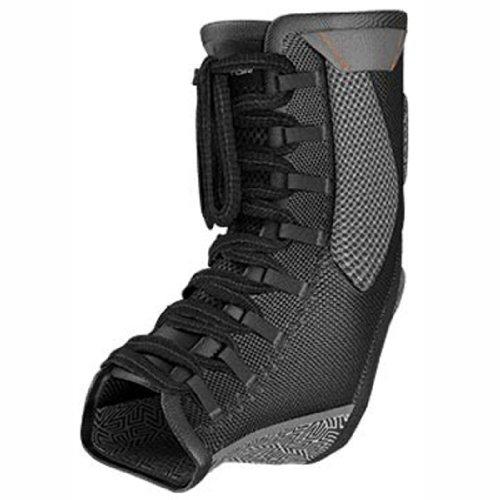 Shock Doctor Ultra Gel Lace Ankle Support (Black, Large)