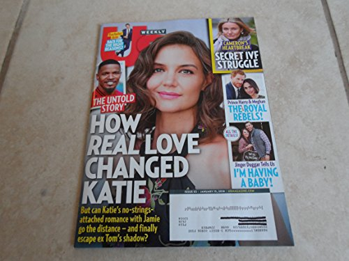 Us Weekly Magazine  Single Issue  January 15  2018
