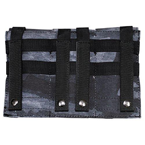 """MFH Magazintasche """"Molle"""" Dreifach Modular-System UBW Army Tasche Munitionstasche 16x16cm viele Farben (HDT-camo LE)"""