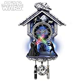 STAR WARS: Sith Vs. Jedi Wall Clock With Illuminated Lightsabers by The Bradford Exchange