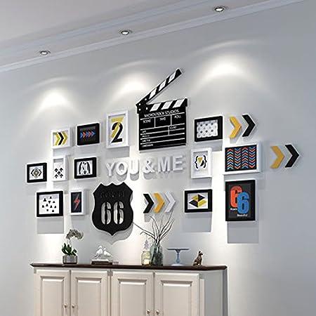 Zi Ling Shop Creative Accueil Chambre Lettre Photo Mur