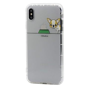 Keyihan iPhone 6S / iPhone 6 Funda Carcasa Cómic Divertido Perro Lindo patrón Transparente Suave TPU Silicona Shockproof Parachoques Bumper Case para ...