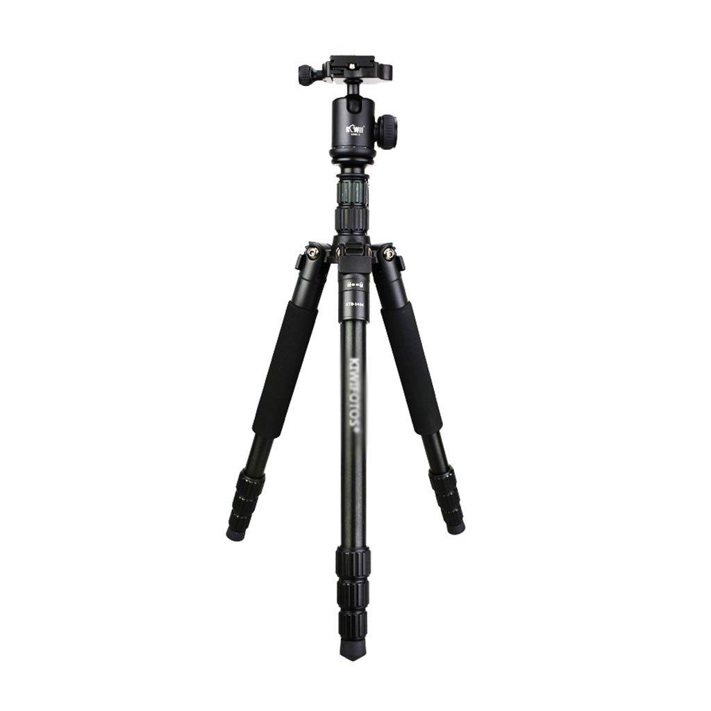 Gai Hua Home 三脚 三脚 旅行 ポータブル マイクロ SLR 写真 一脚 カメラ 三角形 ブラケット マグネシウム アルミニウム 三脚, High 147cm, ブラック High 147cm ブラック B07HCVXL2B