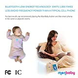 Baby Monitor for Breathing and Movement (Pink)