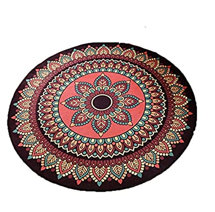Amazon Com Area Rugs Rug Carpet Floor Mat Cartoon Round Bedroom