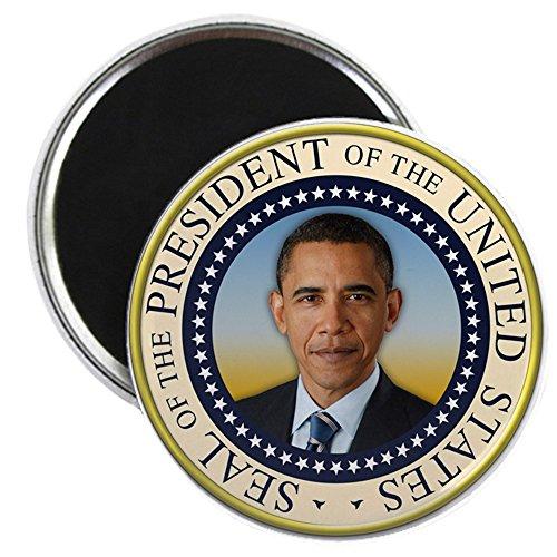 CafePress - Keepsake President Obama Round Seal - 2.25