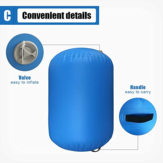 Amazon.com: ibigbean Air Barrel Roller inflable para ...