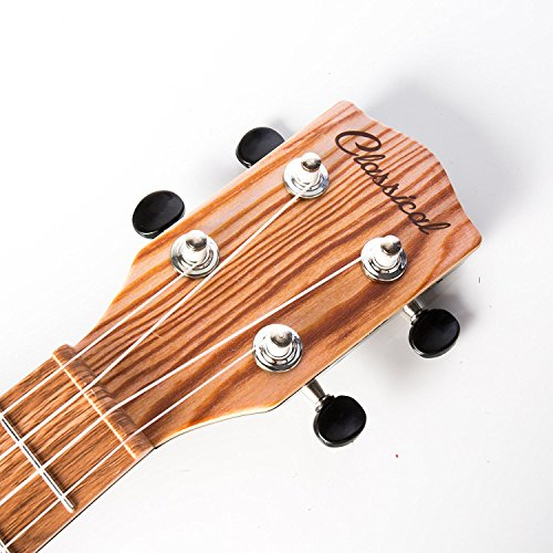 17 Inch Guitar Ukulele Toy For Kids ,Guitar Children Educational Learn Guitar Ukulele With the Picks and Strap Can Play Musical Instruments Toys (17 Inch) - Image 3