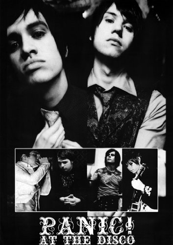 Panic At The Disco Poster Group Cast Collage Rare