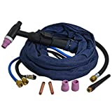 WP-12-12R 12-Feet 500Amp Water Cooled TIG Welding Torch Completed