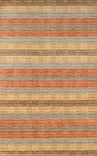Momeni Rugs GRAMEGM-06MTI5080 Gramercy Collection, 100% Wool Hand Loomed Contemporary Area Rug, 5' x 8', Multicolor